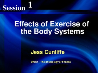 Effects of Exercise on the Human Body Systems