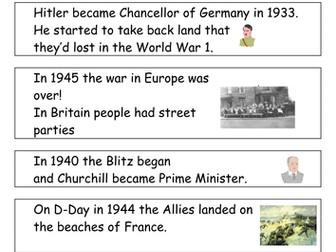 World War 2: lesson plans 1-5