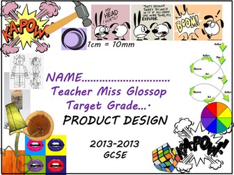 Product Design Booklet