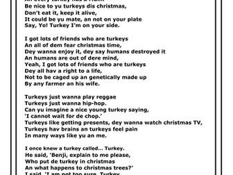 benjamin zephaniah turkey