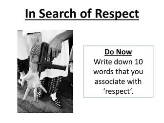 Social Anthropology;Respect
