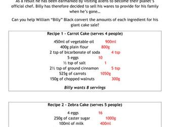 Baking Bad - Season 1 - Ratio and Proportion