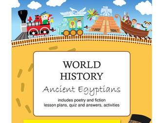 Ancient Egyptians Activity Booklet and Lesson Plan