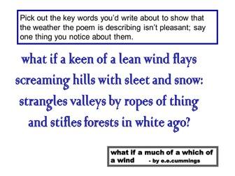 10 Unseen Poetry starters