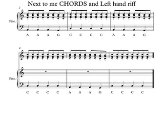 Working with Chords, Riffs and Hooks by yz49 | Teaching