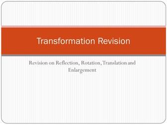 Transformation Revision