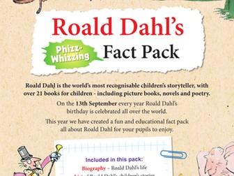Roald Dahl KS2 Fact Pack