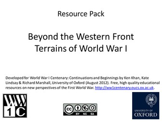 Beyond the Western Front: Terrains of WW1