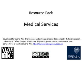 Medical Services in WW1