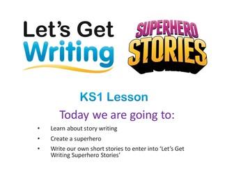 KS1 Superhero Stories Writing Pack