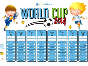 World Cup 2014 Activity Pack