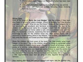 Boris the Lost Badger-What happens next?