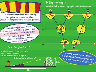 World Cup Maths activities