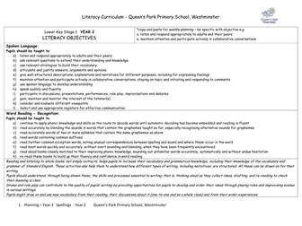 New Literacy Curriculum 2014