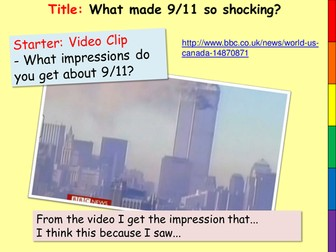 What made 9/11 so shocking?