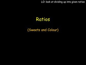 Ratio Sweets and Colour