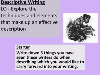 Descriptive Writing for IGCSE