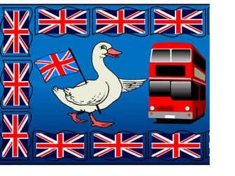 UK Flag Themed Banner