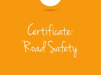 Road Safety Awareness Certificate