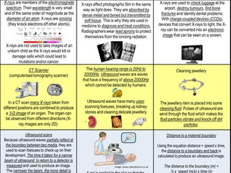AQA Physics P3 QR coded revision cards