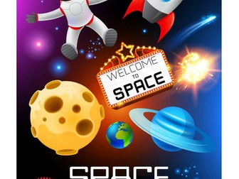 Space Creative Activity Pack