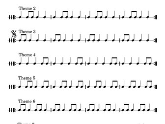 Breakthrough Challenge: instrumental composition for a primary school orchestra with backing track