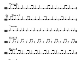 Breakthrough Extreme: instrumental composition for a primary school orchestra with backing track
