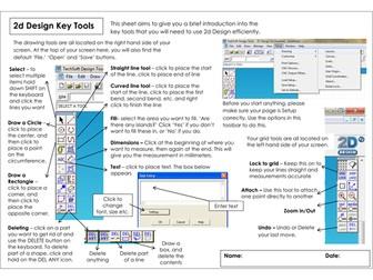2D Design Key Tools
