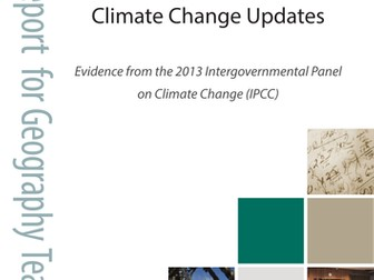Climate change report for geography teachers