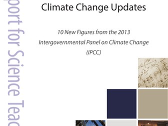 Climate change report for science teachers