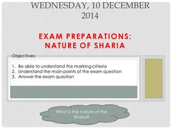 Lesson 3a shariah