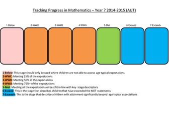 Primary Maths, Literacy and Science Tracking without Levels