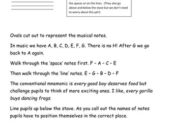 Musical notation games