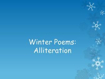 Winter Poems: Alliteration