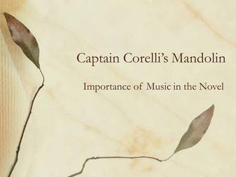 Captain Corelli's Mandolin: Importance of Music