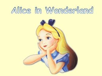Alice in wonderland powerpoint story by joannebarrett teaching alice in wonderland powerpoint story toneelgroepblik Image collections