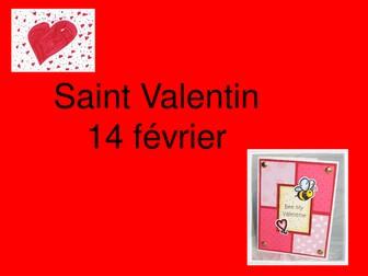 St Valentin - Valentines Day