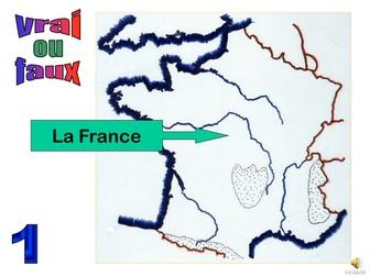 All about France true or false starter