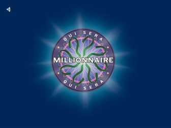 Who wants to be a millionaire - Paris