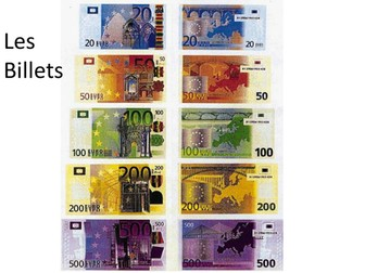 Euros and adding large numbers in French