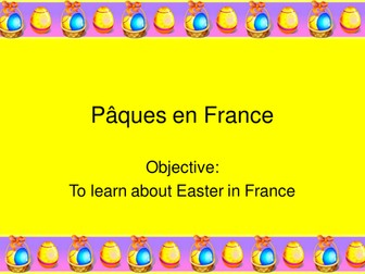 Easter in France