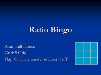 Ratio Bingo