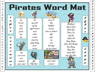 Pirate words and legends