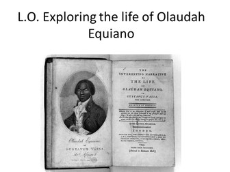 Equiano series of lessons ppt