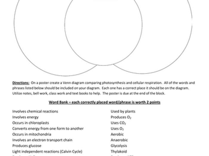 Cellular energy venn diagram electrical work wiring diagram photosynthesis cellular respiration venn diagram by hstewart05 rh tes com venn diagram for quest energy venn ccuart Images
