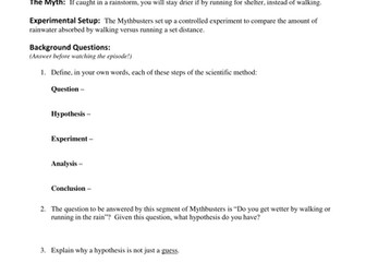 Worksheets Mythbusters Scientific Method Worksheet mythbusters worksheet delibertad collection of scientific method sharebrowse