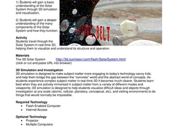 Solar System Explorer3D