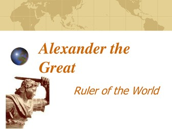 Alexander the Great PowerPoint and Worksheet