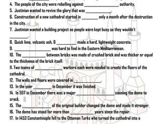 Hagia Sophia Video Notes
