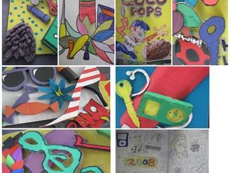 Pop Art Scheme of Work